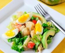 Puerto Rican Codfish Salad | Ensalada de Bacalao