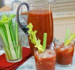 Homemade Sake Bloody Mary